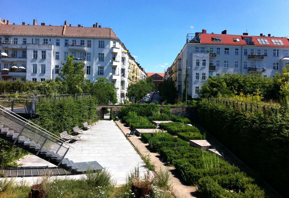 Terrasse/oase, Prenzlauer Berg