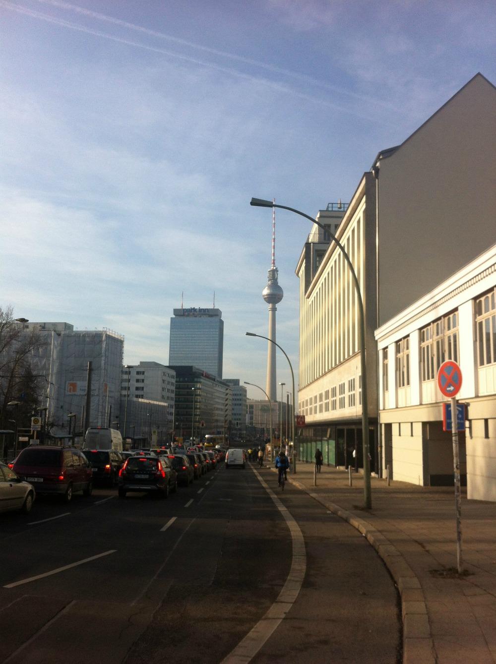 HalloBerlin på cykel i Berlin