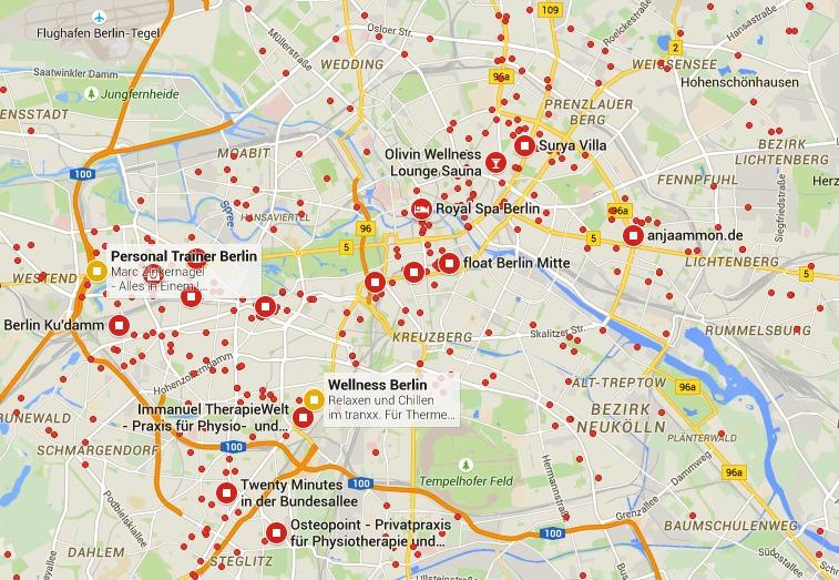 Berlin Wellness Oversigt