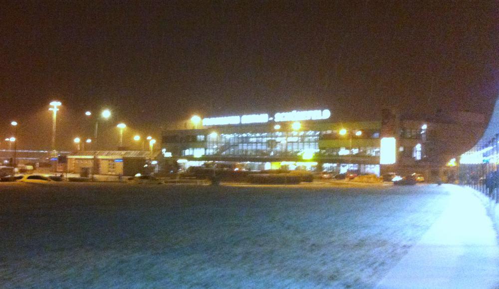 Fra centrum til Schönefeld lufthavn